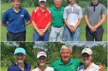 Ryan Keyes and Emma Harding capture AGA Lalwer Junior titles at Frosty Valley Country Club.