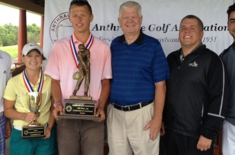 Chris Cerminaro and Julia Santo win 2014 AGA Tournament of Champions titles, earn spots to Pinehurst, North & South Junior.