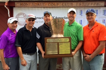 Wyoming Valley Country Club captures 2015 Anthracite Golf Association Coal Scuttle Championship.