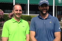 Mike Bonavoglia and Eamon Evans card 65 to win 2017 AGA Ben Marshall Fourball Tournament.
