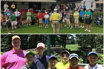 Michael Maslanka 3-under par captures AGA Lawler Junior Tour Title at Buck Hill Golf Club.