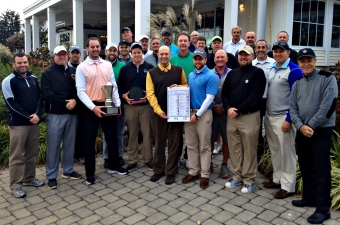Men's Amateur Team wins 2015 AGA Challenge Cup.