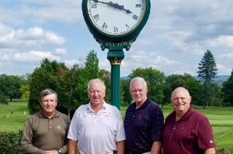 Fox Hill Country Club claims 2017 AGA Super Senior Coal Scuttle Championship.