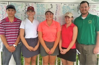 Brett James Wagner & Jessica McClellan Capture AGA Lawler Junior Titles at Elmhurst Country Club.